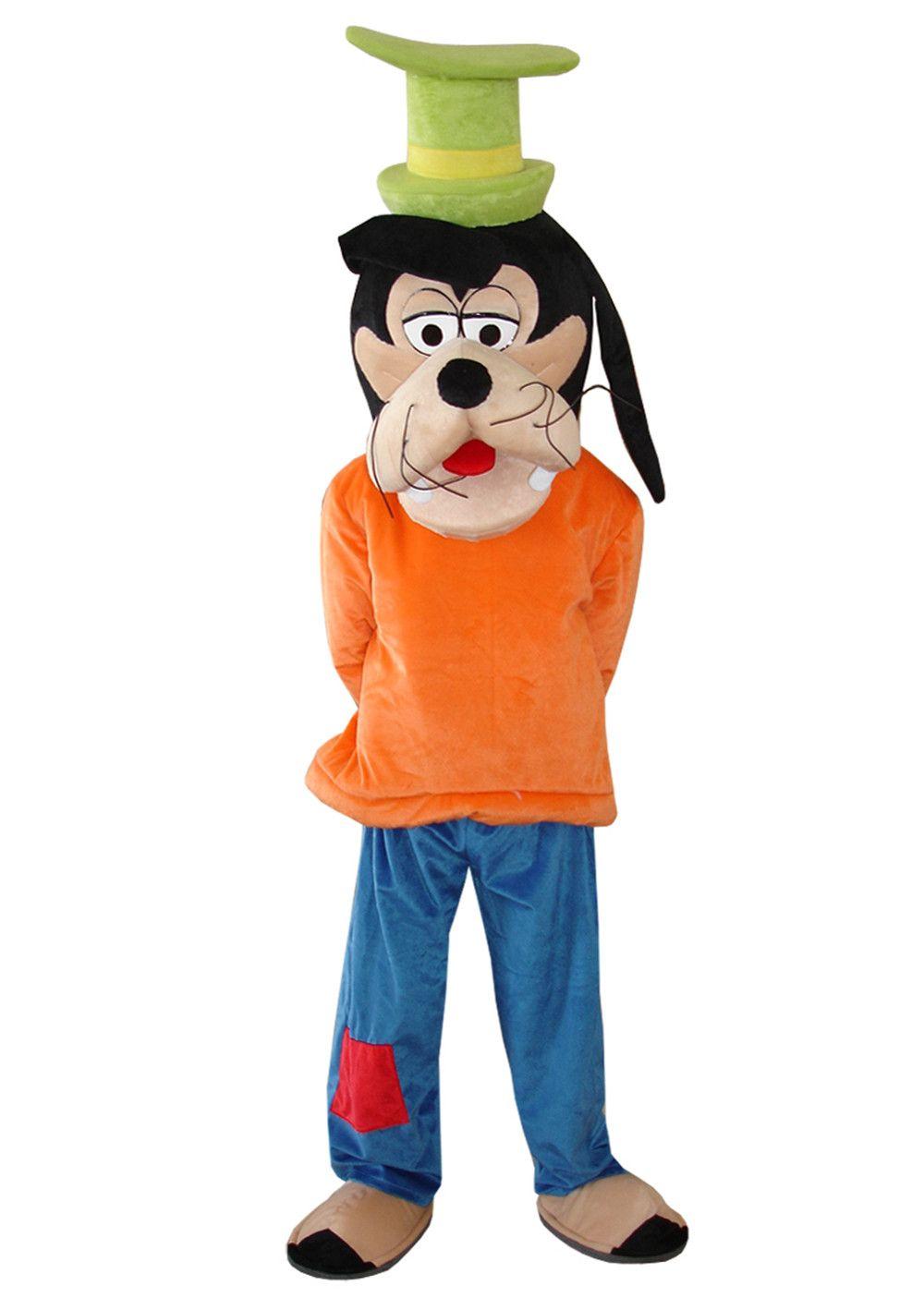 Cosplay costumes Goofy Chien Costume De Mascotte Goofy Costume De Mascotte Chien Mascotte Livraison Gratuite
