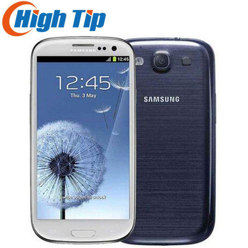 Débloqué samsung galaxy S3 i9300 d'origine Mobile Téléphone Quad-core 4.8