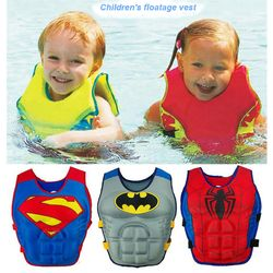 2-6 Years Baby Swim Vest Float Kid Swim Trainer Boy Girl Buoyancy Swimwear Child Life Vest Buoy Swimming Circle Pool Accessories