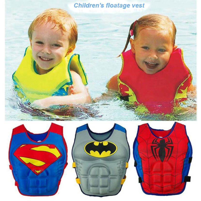 2-6 ans bébé nager gilet flotteur enfant nager formateur garçon fille flottabilité maillots de bain enfant gilet de sauvetage bouée natation cercle piscine accessoires