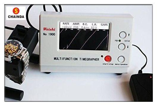 Weishi 1900 Mechanical Watch Timing Machine Watch Timegrapher for Watch Repair