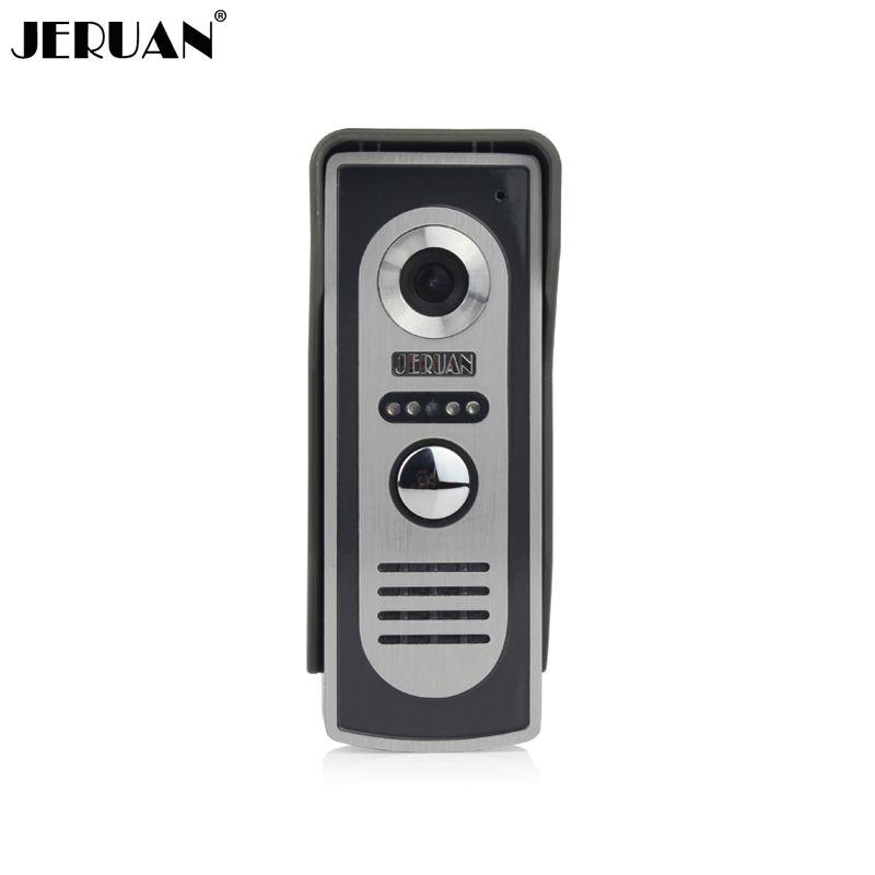 Jeruan видео-телефон двери открытый телефон домофона ИК ночного видения Камера Бесплатная SHIIPPING
