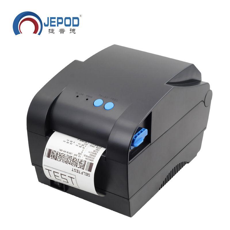 365B 20mm-80mm largeur d'impression Directe barcode Thermique imprimante d'étiquettes bar code QR code imprimante