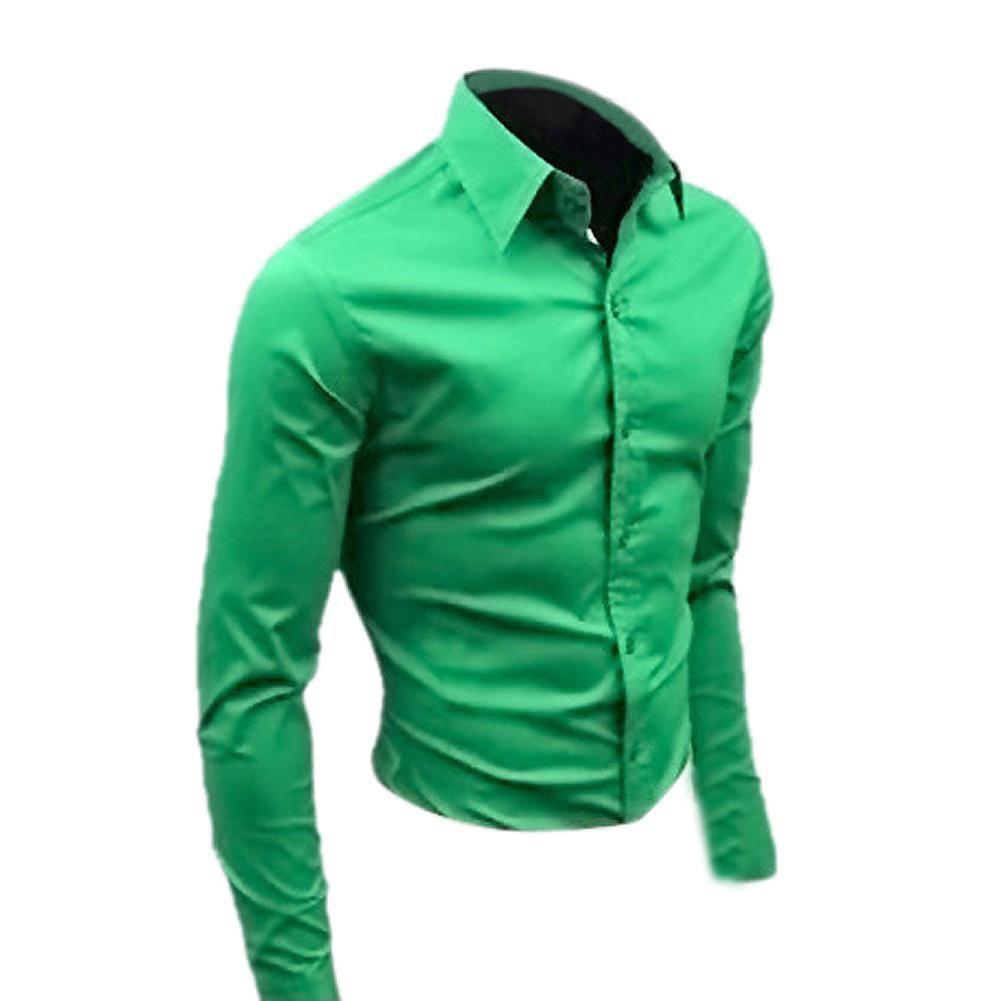 17 2015 farbe Mens Slim fit Einzigartige ausschnitt stilvolle männer Kleid Langarmshirts kleid shirts größe: M-XXL berühmte marke männer