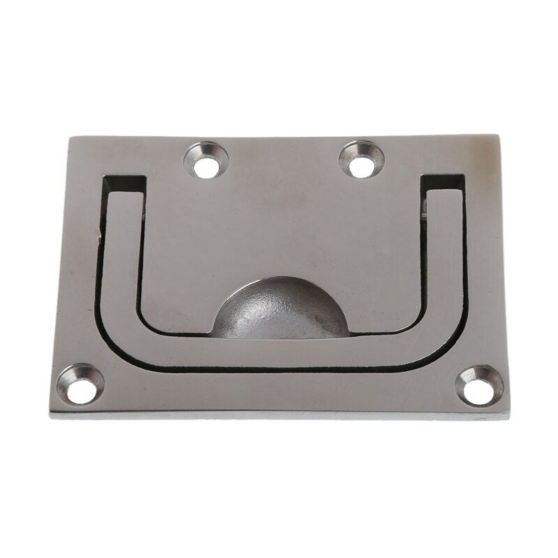 1PC Stainless Steel Corrosion Resistance Durability Hatch Lift Handle Flush Mount Boat Marine Door Window New Drop shipping