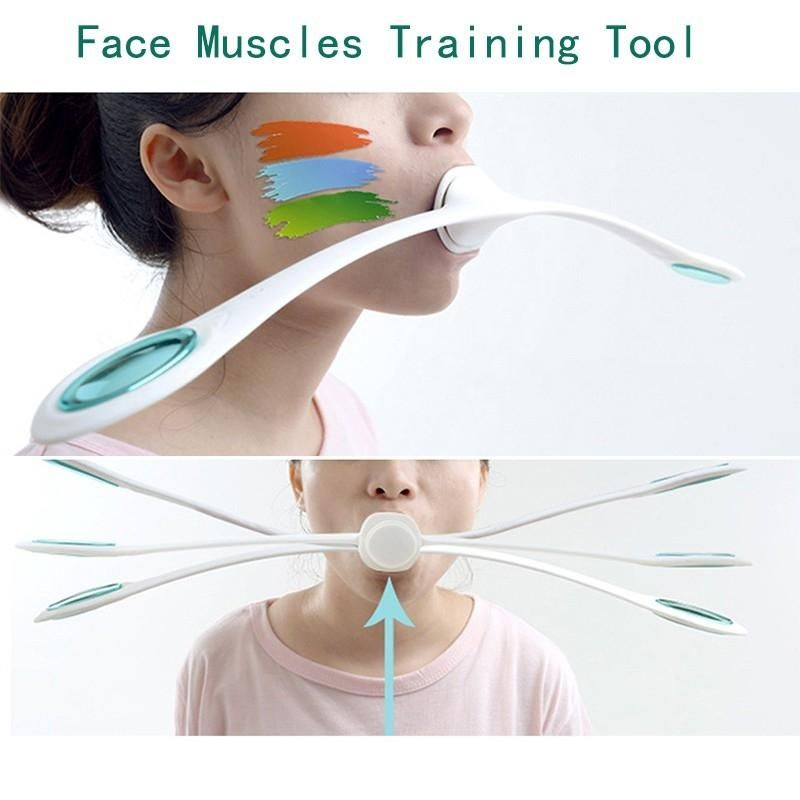 1 pcs Face Muscles Training Wand Roller Anti Wrinkles Massager Smile Exercise Facial Fitness Face lifting Slim Tool