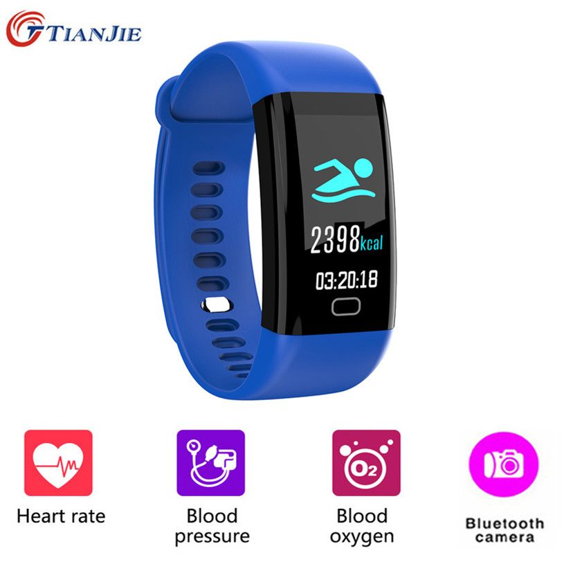 F07 Smart Bracelet Color Screen Heart Rate Monitor Health Smartband Blood Pressure Fitness Tracker Sport Watch for Ios Android