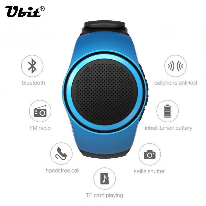 Ubit B20 Bluetooth Sport Musique Montre Portable Mini Montre Bluetooth 2.1 + EDR Sport Haut-Parleur TF Carte FM Audio Radio haut-parleurs