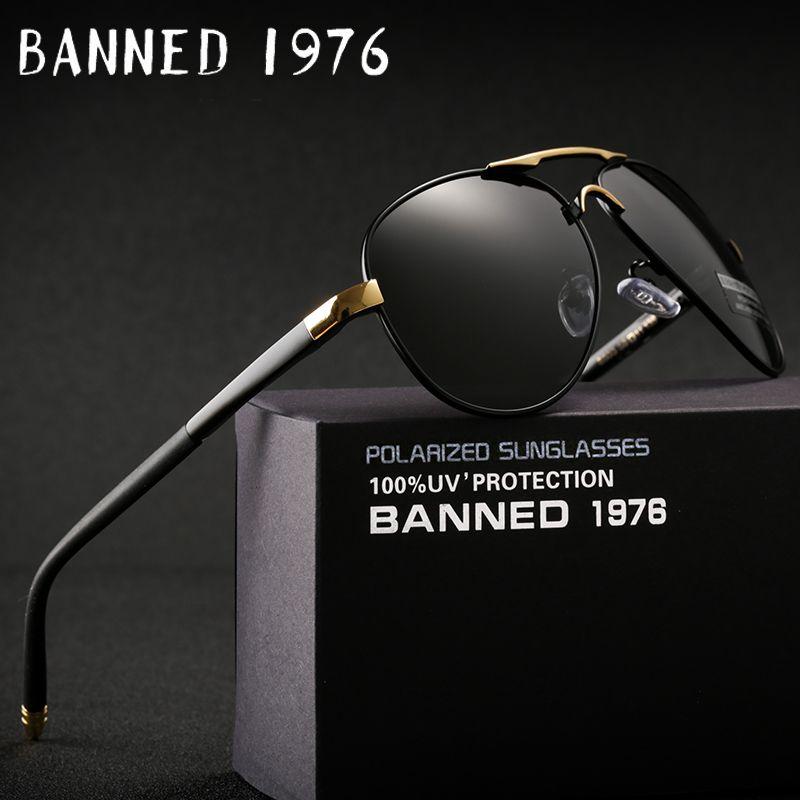 2018 HD polarisé UV 400 hommes lunettes de soleil tout nouveau mâle cool conduite lunettes de soleil conduite lunettes gafas de sol nuances avec boîte
