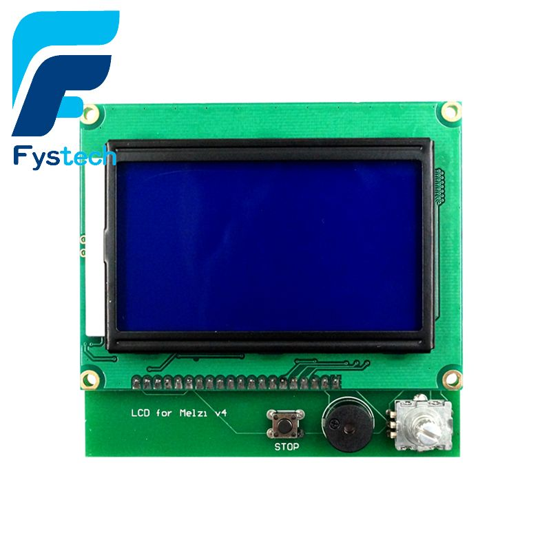 3D Printer Accessories 12864 LCD For Wanhao I3 V1.1 Melzi Board