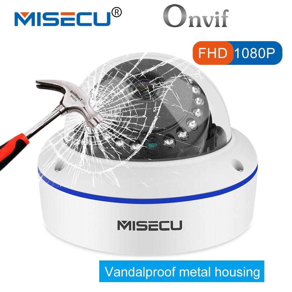 MISECU Vandalproof 2,8/3,6mm weitwinkel 1MP/1.3MP/2MP Onvif P2P 720 p/960 p /1080 p IP Kamera IR Nachtsicht RTSP FTP Mobile ansicht