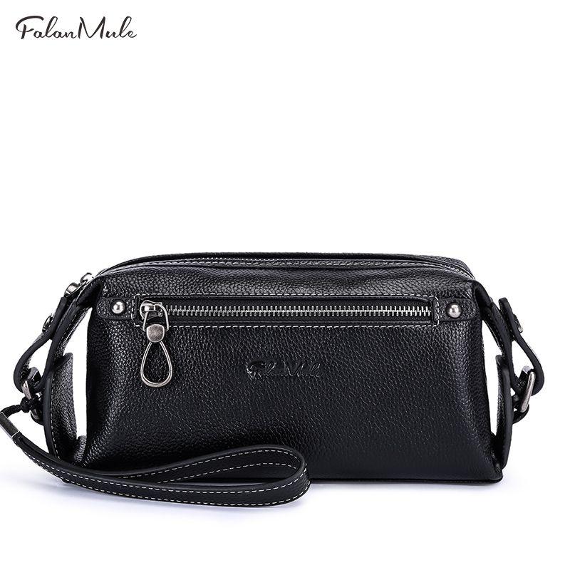 Luxury New Fashion Male Clutch Genuine Leather Wallet Men Clutch Bag Clutch Male Wallet Luxury Leather Men Wallet Men Handy Bag