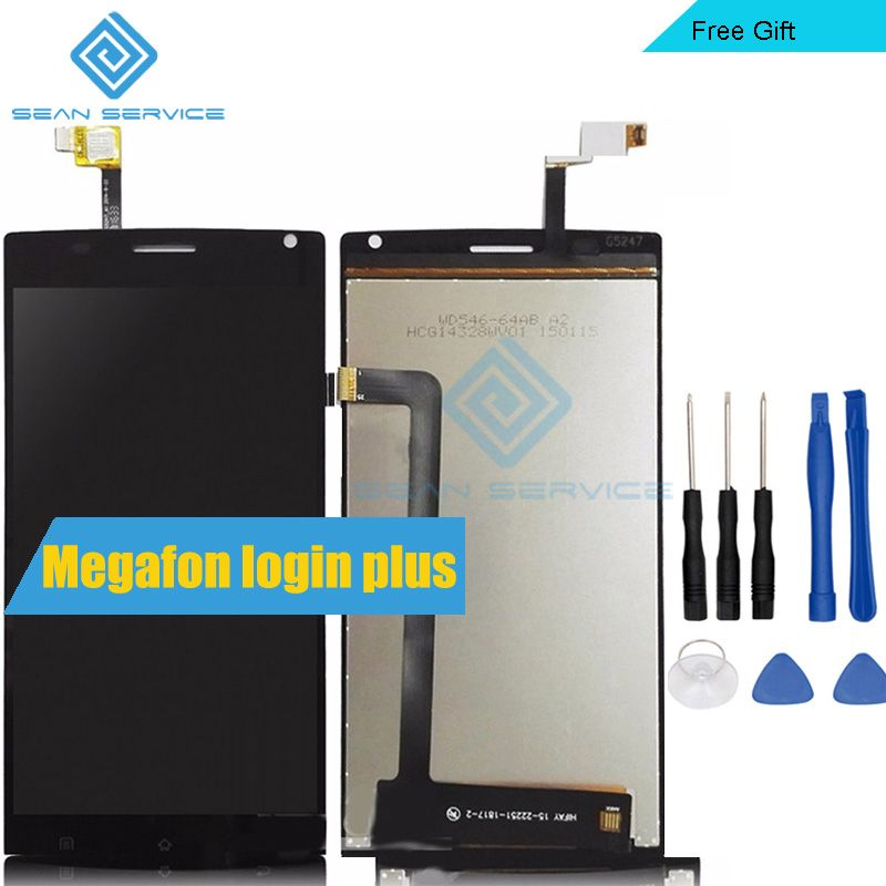 For Megafon login plus LCD Display + TP Touch Screen Digitizer Assembly Lcds 5.5