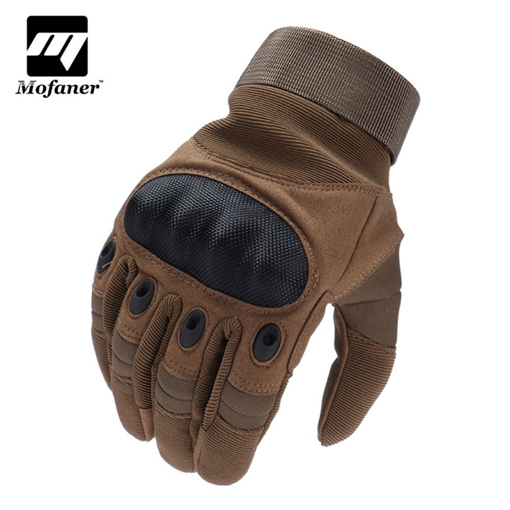 Mofaner One Pair Motorcycle Gloves Full Finger Outdoor Sport Racing Motorbike Motocross Protective Breathable Glove