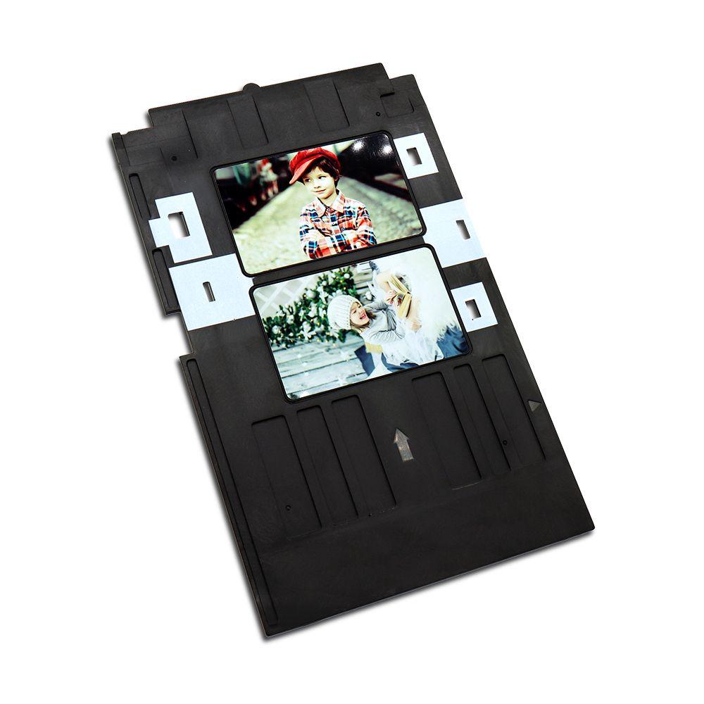 Plateau de carte en plastique de plateau de carte d'identification de PVC de jet d'encre pour Epson P50 T60 R90 R330 R390, R330 L800 L801 L805 Px700w, Px800FW, Px665, px660