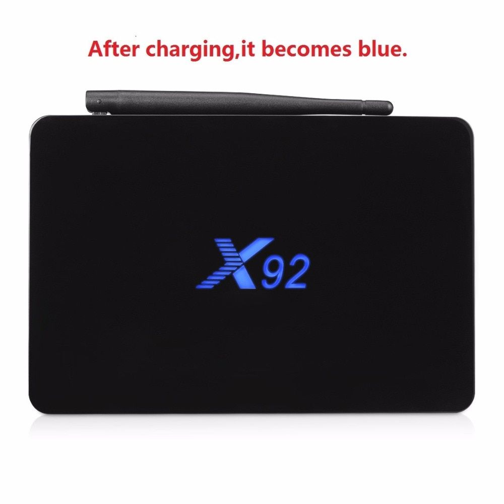 X92 TV Box Amlogic S912 Android 6.0 Octa-core <font><b>2.4GHz</b></font>/5.8GHz WiFi HD 2.0a with USB 2.0 SD Card Slot 5G Wifi 4K BT Smart TV Box