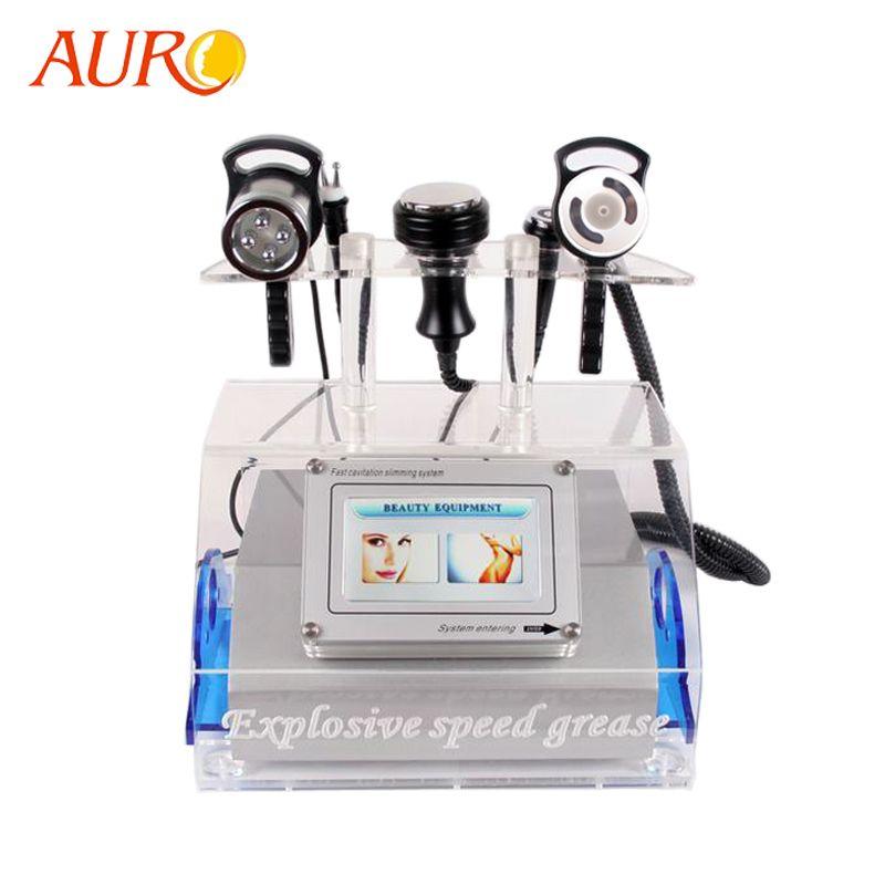 2019 AURO Neue Technologie Kavitation Ultraschall-liposuktion RF Vakuum Abnehmen Schönheit Maschine für Spa mit Kostenloser Versand