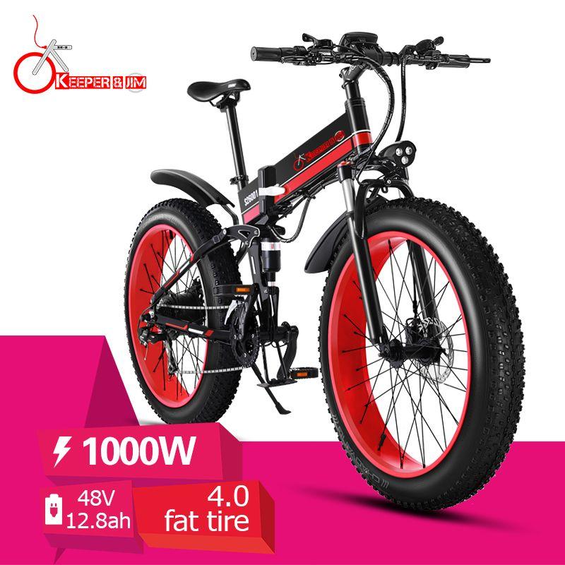 KX01 hydraulische öl bremse berg 48V aluminium legierung rahmen elektrische Fett reifen Klapp elektrische fahrrad