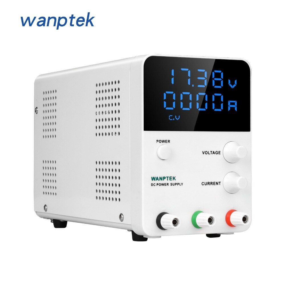 Wanptek 0.01V 0.001A Mini laboratory power supply GPS605D 60V 5A 30V 10A adjustable Digital voltage regulator DC power supply