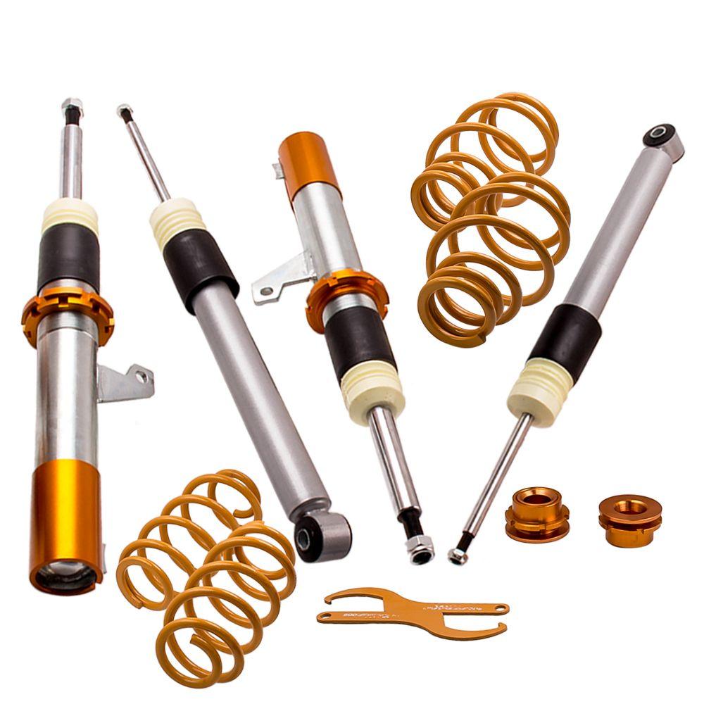 FÜR VW Golf MK5 Gewindefahrwerk Kit 1.9TDI 1.6FSI 1.4FSI 50mm Strut 30/60mm für Luke 1.6TDi, 1.9TDi, 2.0TDi Frühling
