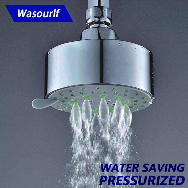 Tête de douche à économie d'eau de haute qualité WASOURLF, 5 fonctions, SPA à pression et économie d'eau, bienvenue sur la vente en gros