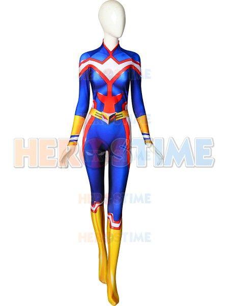 Weibliche Alle Könnte Cosplay Kostüm 3D Drucken Spandex Mein Hero Wissenschaft Boku keine Hero Wissenschaft Zentai bodysuit Frauen/Mädchen /Custom