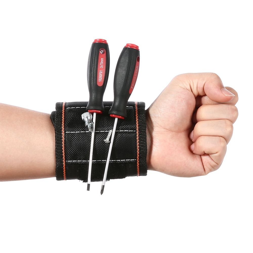 2017 New Strong 13.8'' Magnetic Wrist Support Band Tool Belt Bracelet Screw Kit Magnetic Wristband in housing