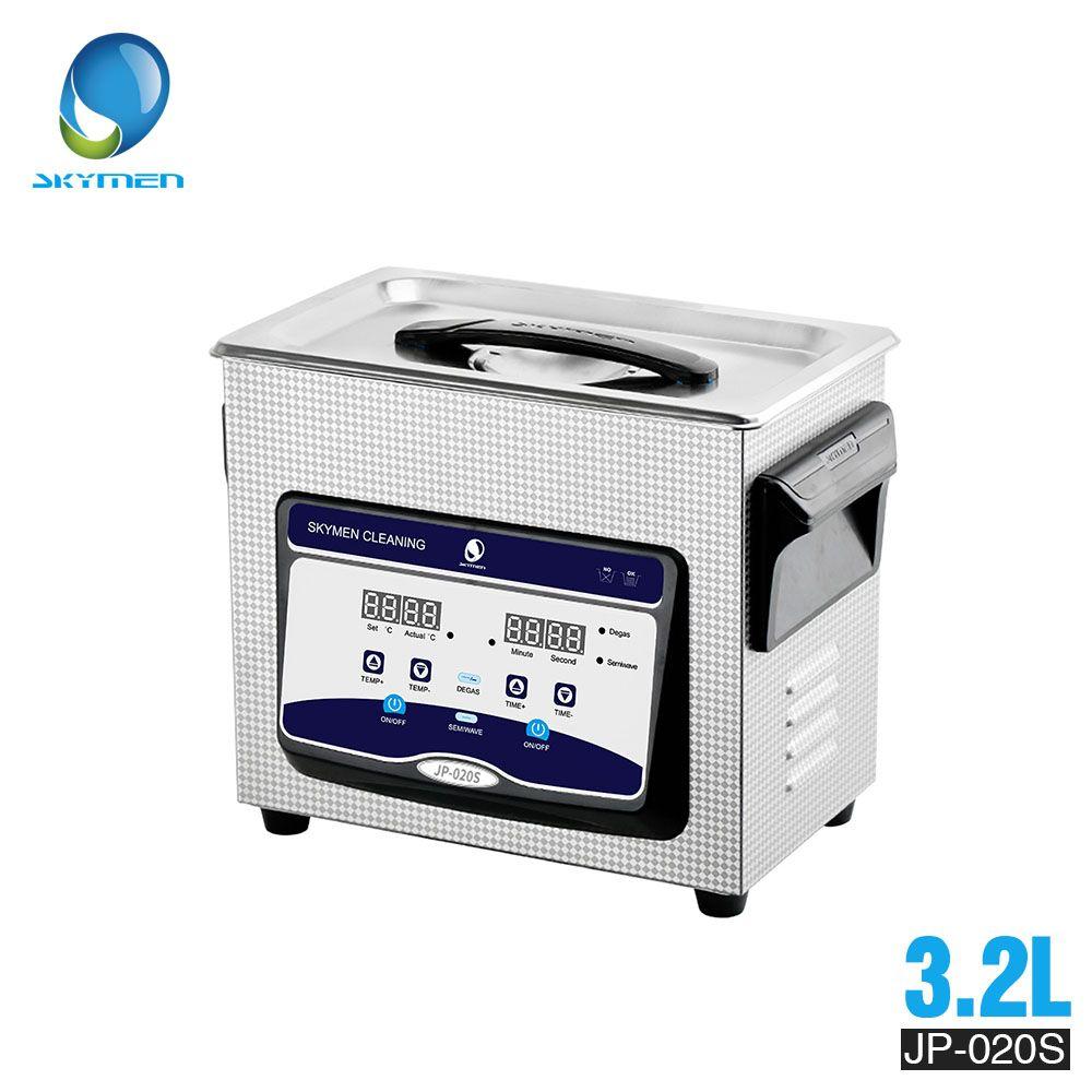 Skymen3L 3.2L Digital Ultraschall Reiniger edelstahl Bad für Uhr Schmuck Dental mit Heizung
