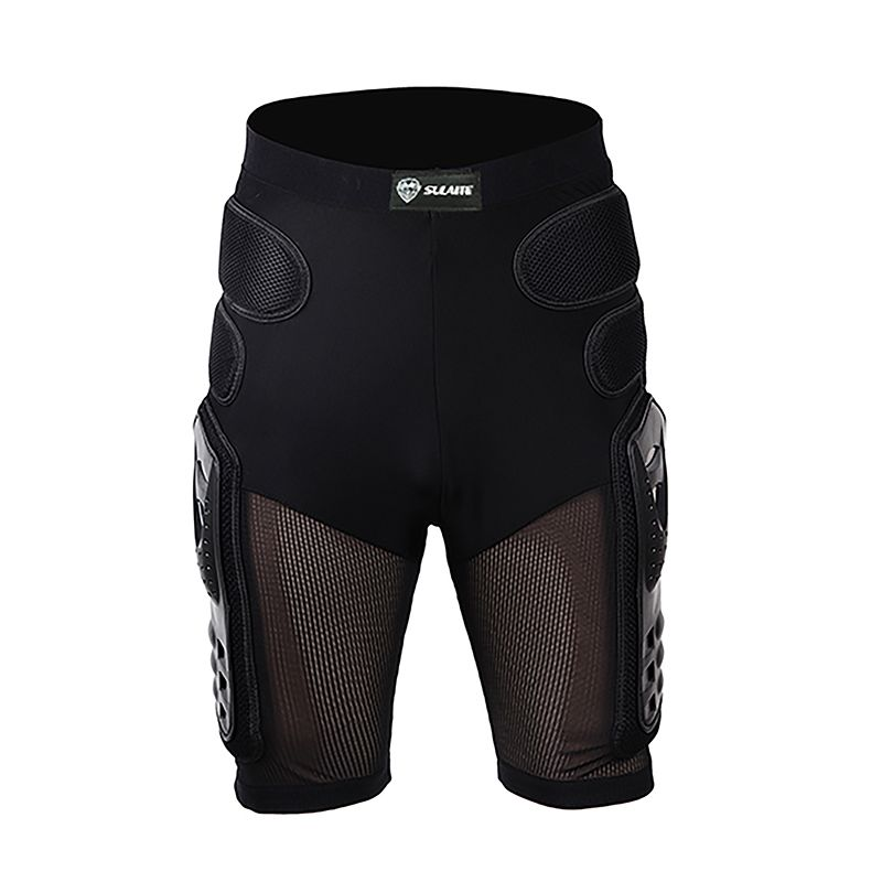SULAITE Motorcycle Protective Armor Shorts Sport Racing Off Rroad Motocross Riding Protector Hip Pads Shorts