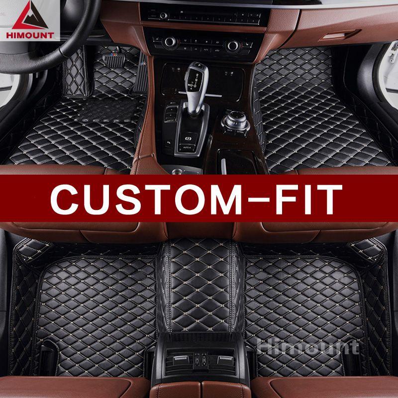 Car floor mat for Ford Fiesta Ecosport Focus Fusion Mondeo Kuga Escape Edge Explorer Mustang F-150 Raptor Navigator Expedition