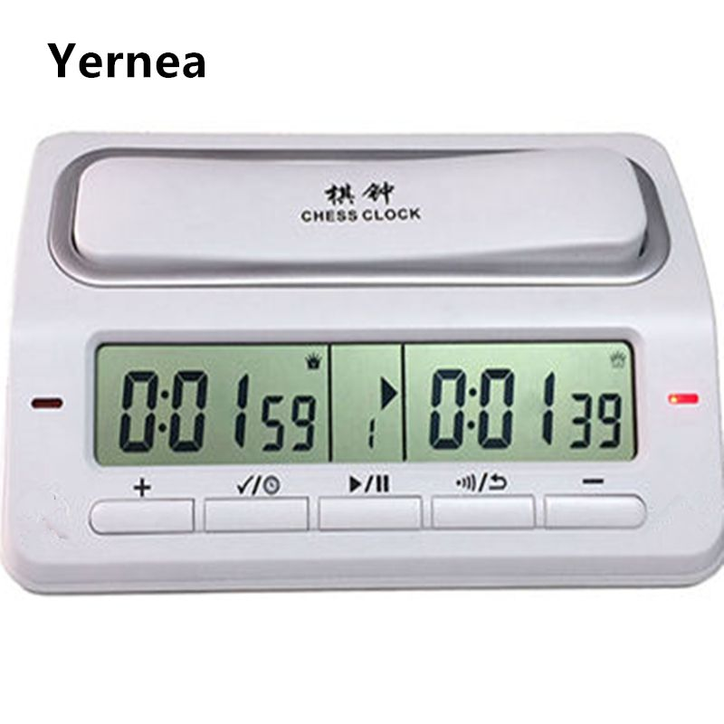 Electronic Digital Chess Clock Game Timer Master Tournament 39 Timing Modes For Chess I-GO Chinese Chess Game Set Timer Yernea