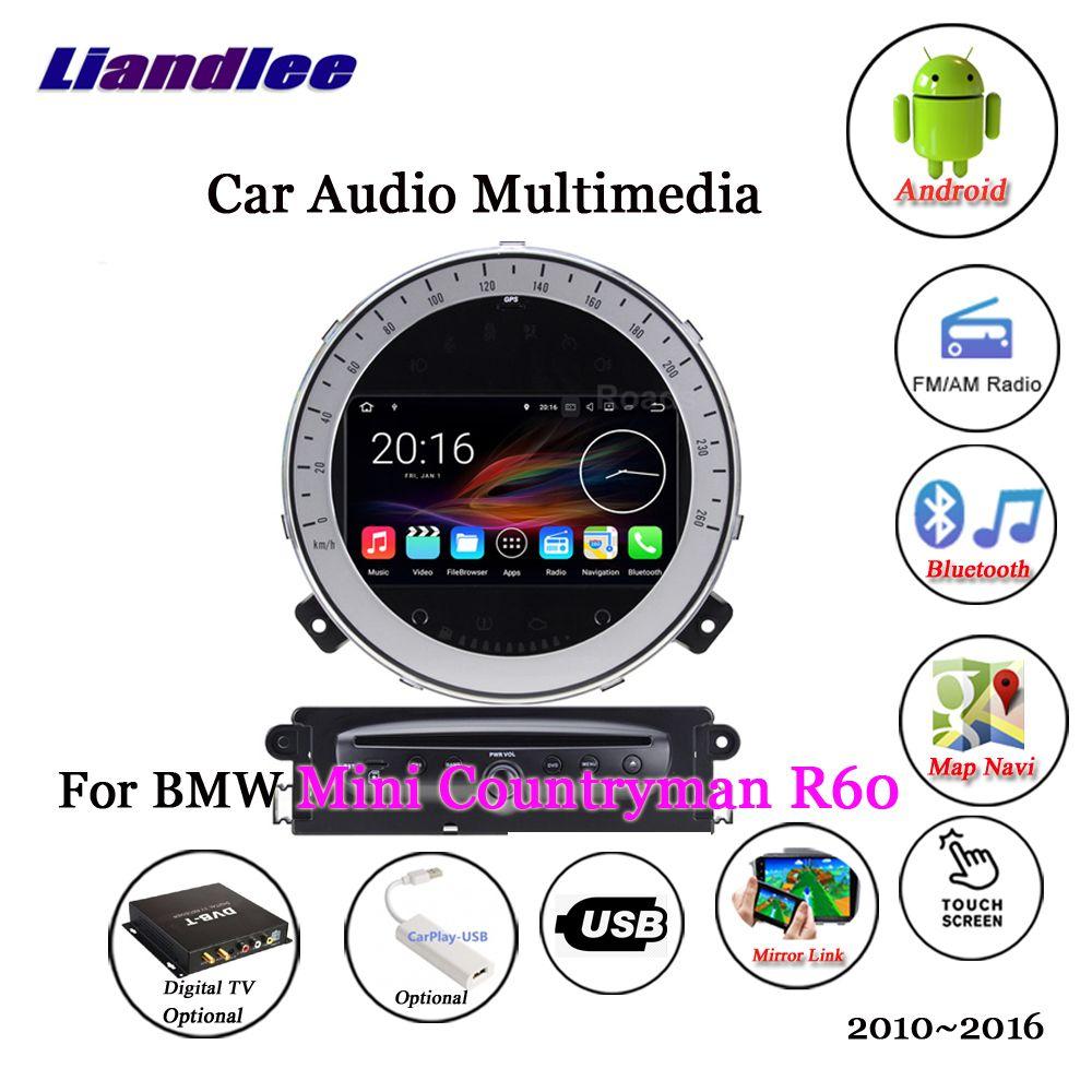 Liandlee Für BMW Mini Countryman R60 2010 ~ 2016 Android Radio Stereo Carplay Kamera Digital TV GPS Karte Navi Navigation multimedia