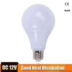 E27 Luzes LED Bulbo 3 W 5 W 7 W DC 9 W 12 W 15 12 V Conduziu a Lâmpada W Lampada 12 Volts Levou Lâmpadas de Poupança de Energia para a Iluminação Ao Ar Livre