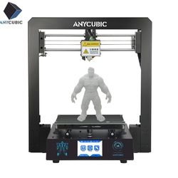 ANYCUBIC I3 Mega 3D Drucker Volle Metall Plus Größe Desktop Rahmen 3,5 Zoll TFT Screen Impresora 3D Drucker DIY Kit gadget Extruder