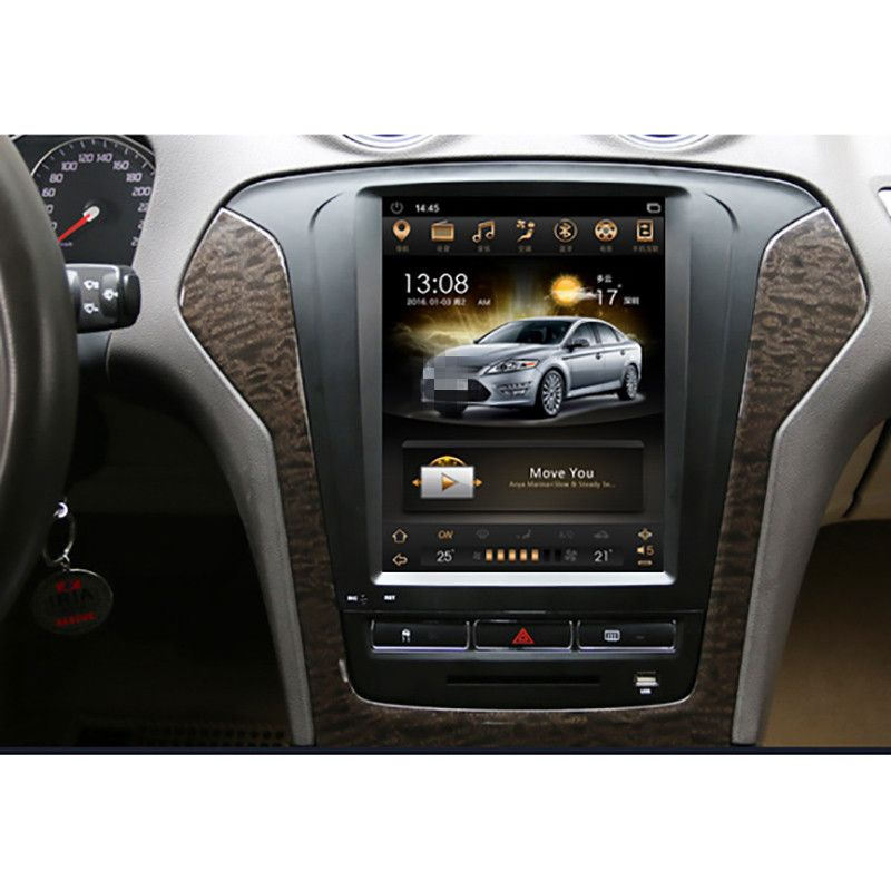 CHOGATH 10.4 ''android 7.1 Vertical Screen Car Radio GPS Multimedia player for Ford Mondeo fusion 2011 2012 2013 with maps,wifi