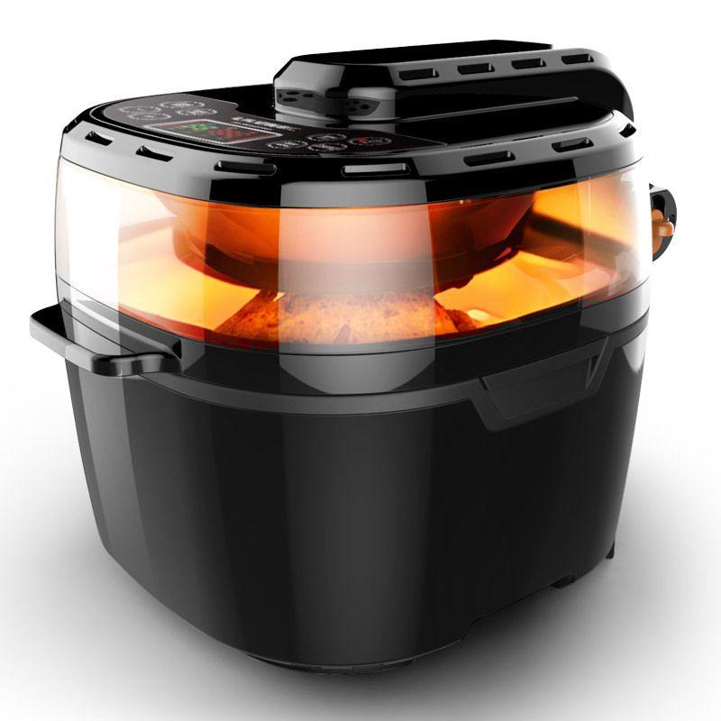 10L Große Kapazität Luft Friteuse Intelligente Dreidimensionale Surround Heizung Familie Luft Energie Ofen Elektrische Friteuse Frites Maschine