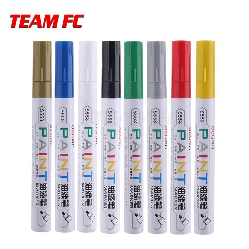 2PCS 8 Farben Optional RC Auto Reifen Farbe Marker Zeichnung Stift Werkzeug für RC Auto Crawler TRX4 Axial SCX10 s327