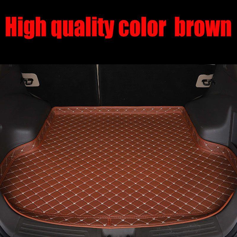 Custom fit auto Stamm matten für Land Rover Range Rover L405 5D heavy duty auto styling teppiche teppich boden liners