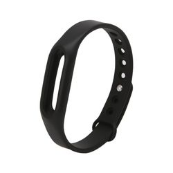 ANENG Black Silicone Wrist Band Strap Wristband Replacement For Xiaomi Mi Band 1