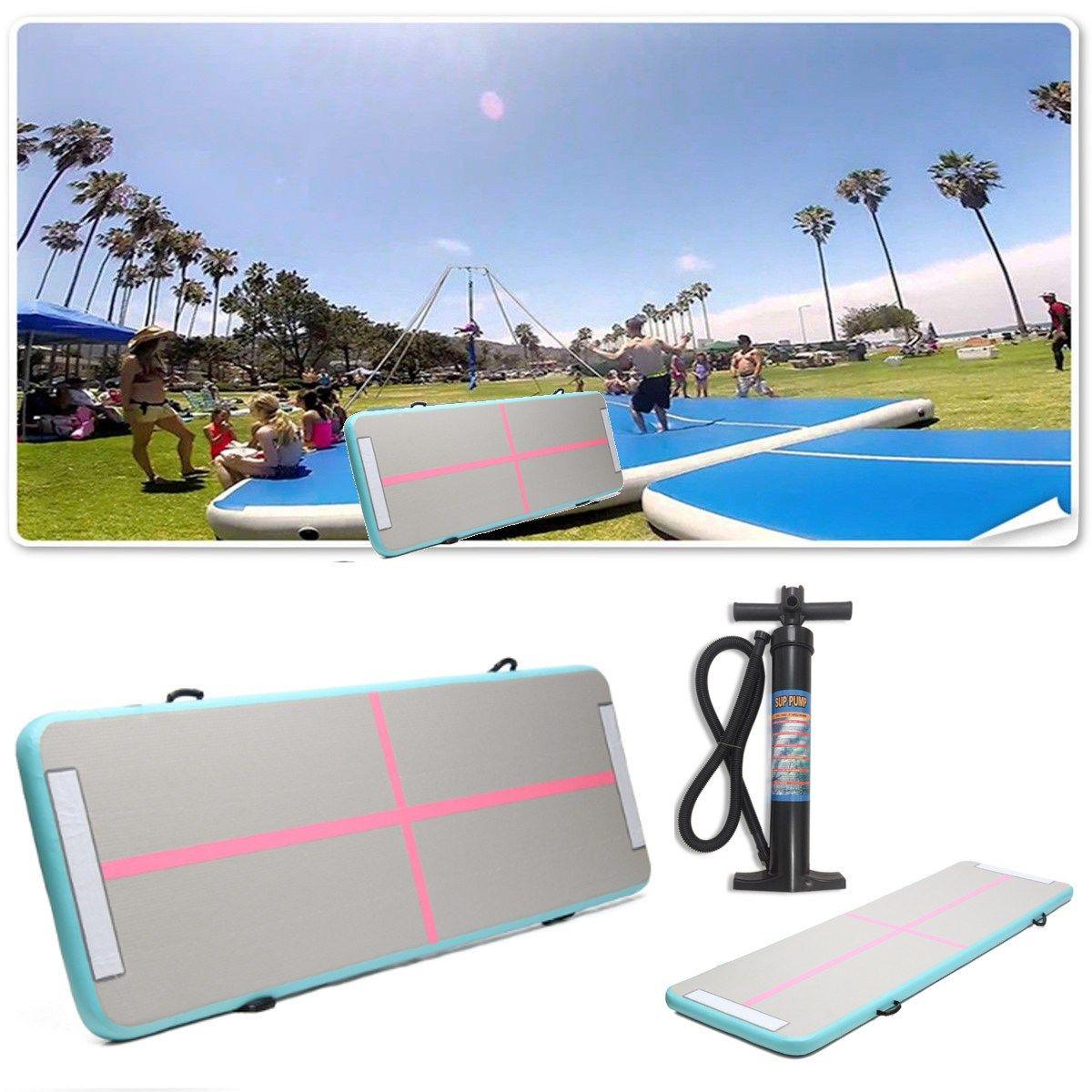 300x90x10 cm Luftkissenbahn Startseite Aufblasbare Gymnastik Taumeln Matte Yoga Ausbildung Pad