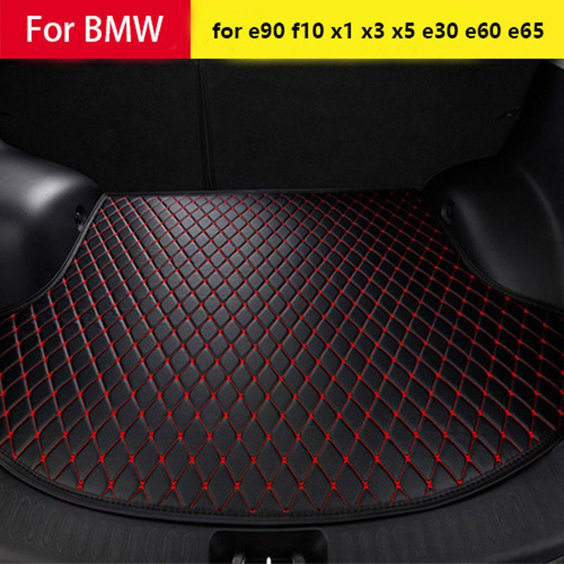 Shenlao Car trunk mat for BMW g30 for bmw e90 f10 f01 f25 f30 f45 x1 x3 f25 x5 f15 e30 e34 e60 e65 e70 e83 320i Car accessories