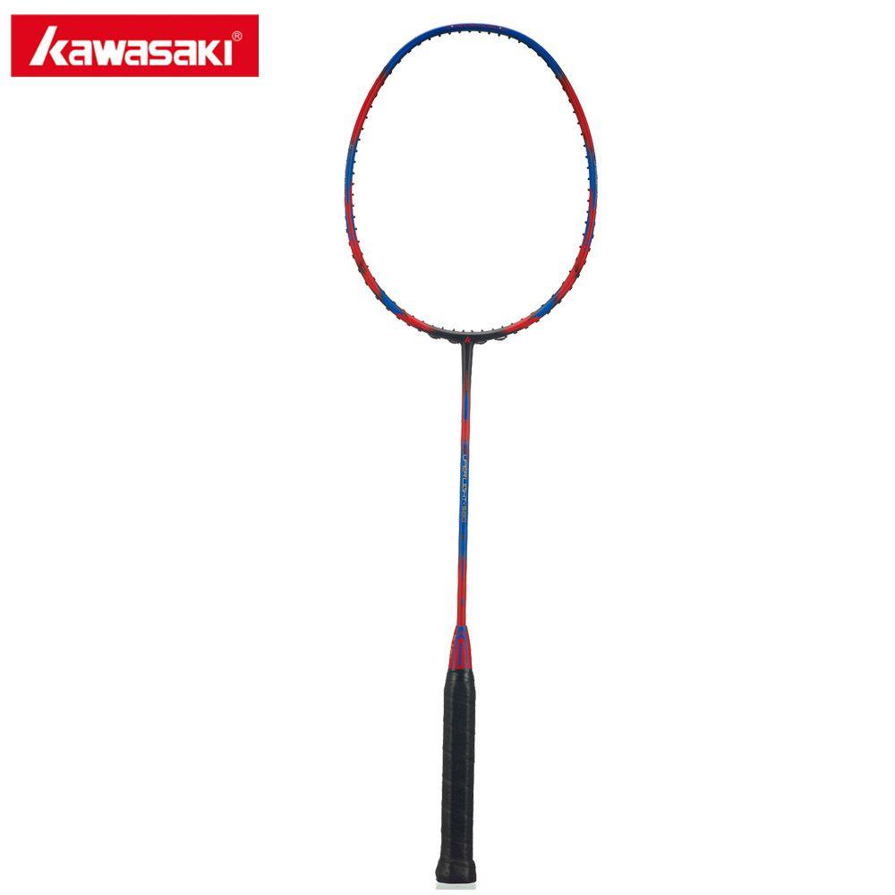 Kawasaki Super Licht 580 Licht Gewicht Badminton Schläger 30 T Aerofoil Rahmen Sport Badminton Schläger 100% Carbon Dämpfung Griff
