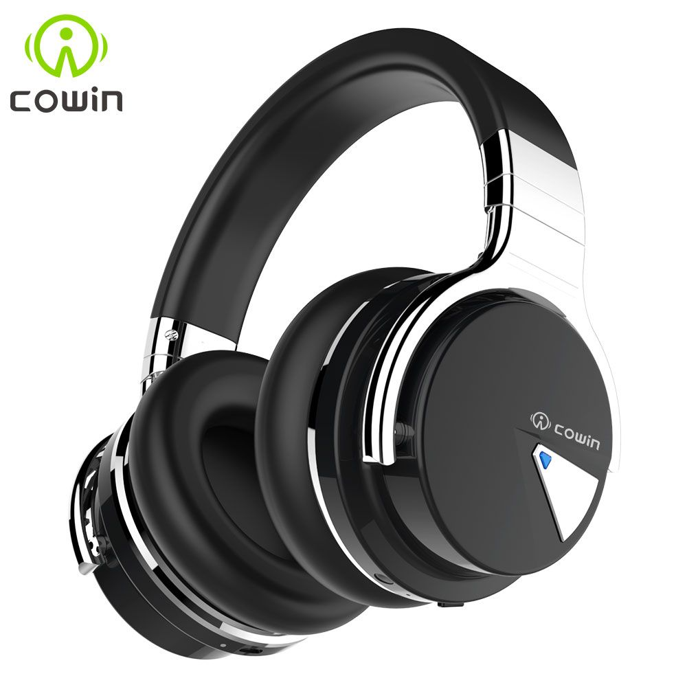 Original Cowin E-7 Wireless Bluetooth Headphones Wireless <font><b>Headset</b></font> with Mic Active Noise Cancelling Bluetooth Earphone for Phone
