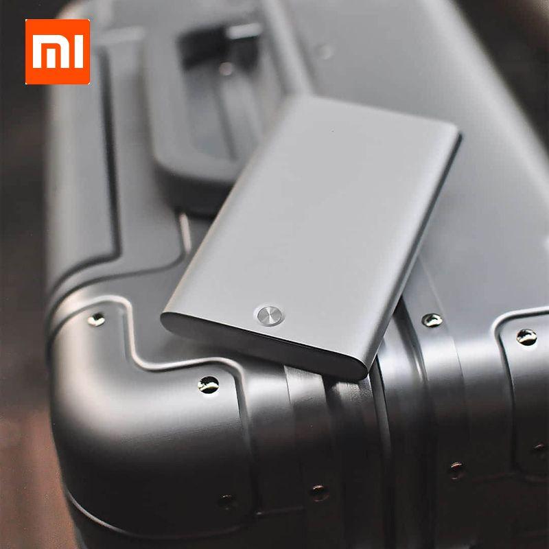 Xiaomi MIIIW étui à cartes automatique Pop Up boîte couverture porte-carte Mijia métal portefeuille ID Portable stockage carte bancaire carte de crédit