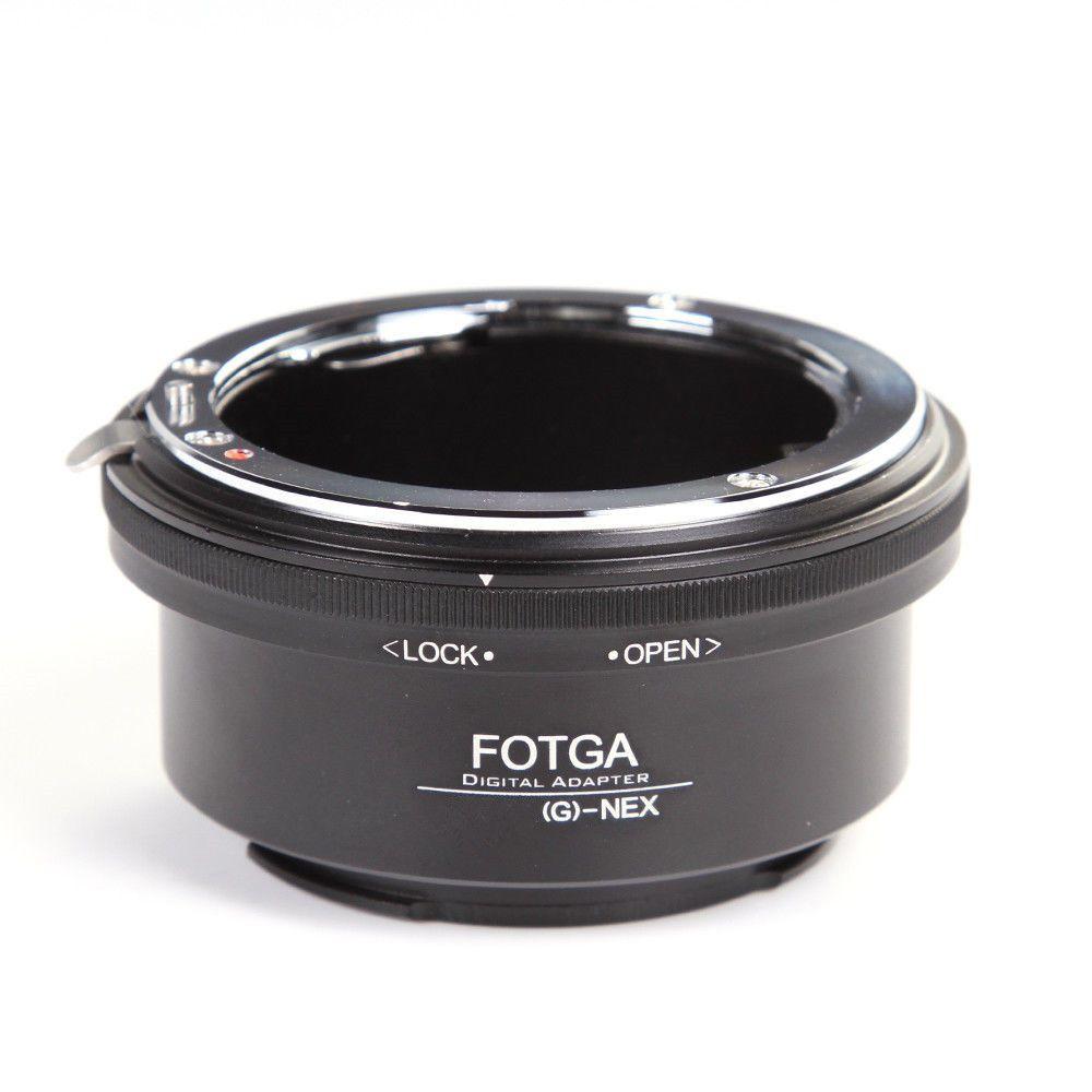 FOTGA Adapter Ring für Nikon AI AF-S G Objektiv Sony E-mount-nex3 NEX-5 N 5R C3 NEX6 NEX7