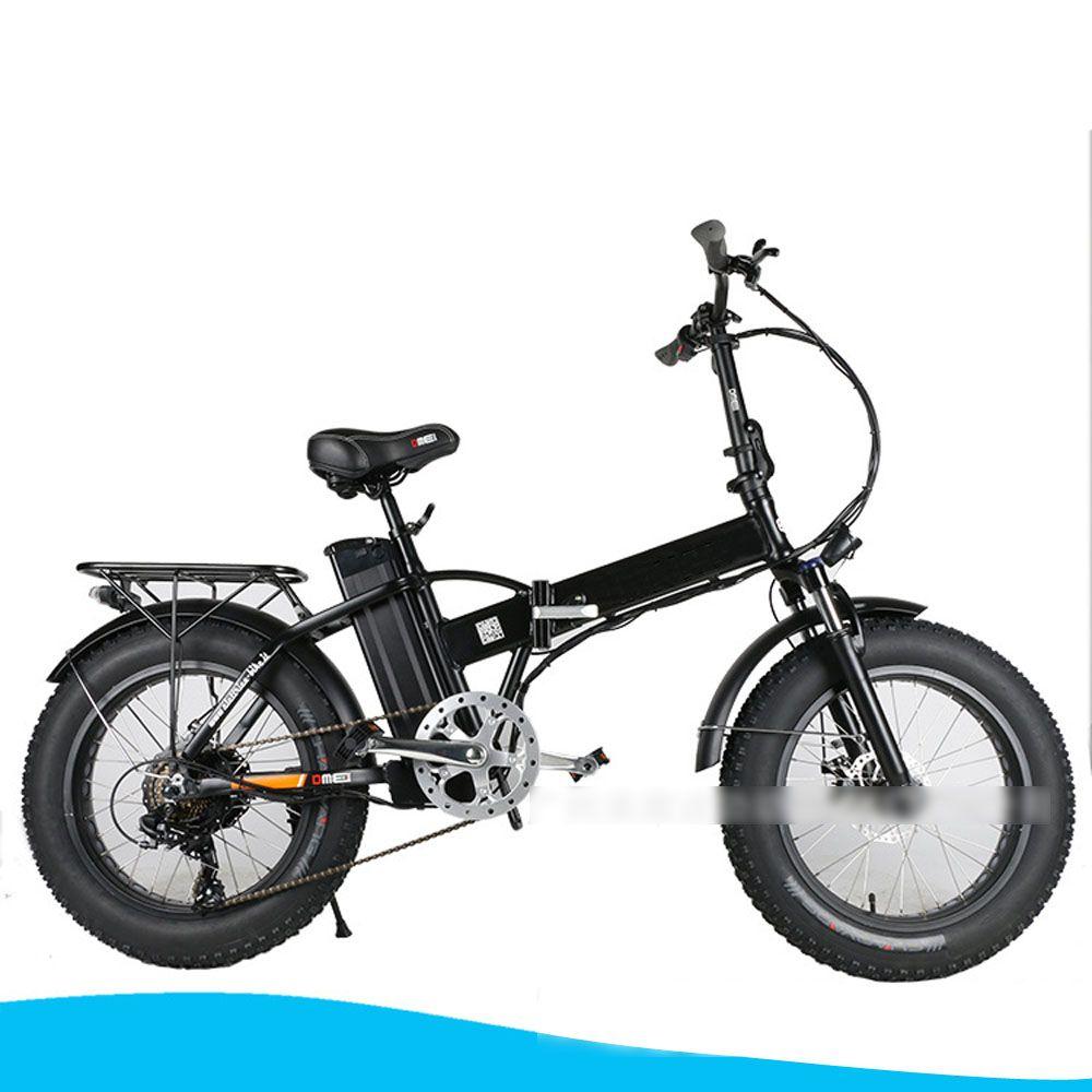 E bike 36 v 10ah lithium-batterie 350 watt motor power bike folding elektrische fahrrad fett reifen elektrische unterstützen bikes