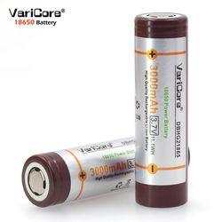 2 шт. varicore новый оригинальный Hg2 18650 3000 мАч батареи dbhg21865 3.6 В разряда 20A посвященный для электронной сигареты мощность батареи