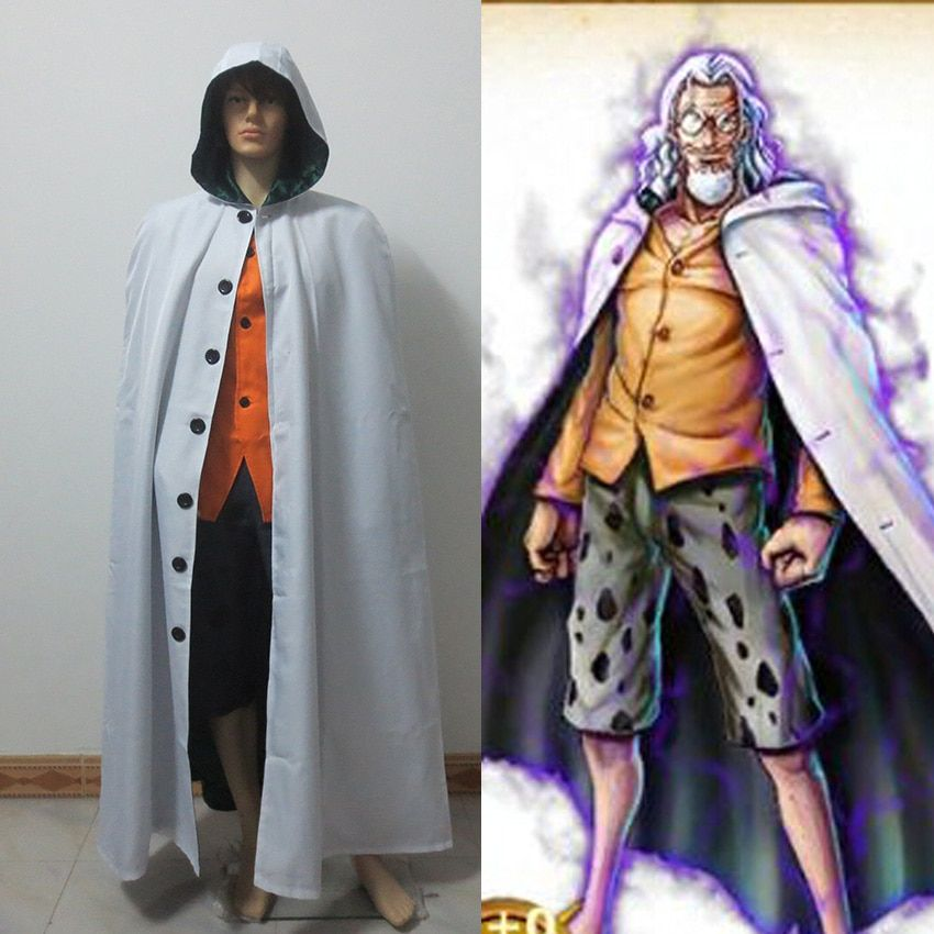 Anime One Piece Silvers Rayleigh Cosplay Costumes