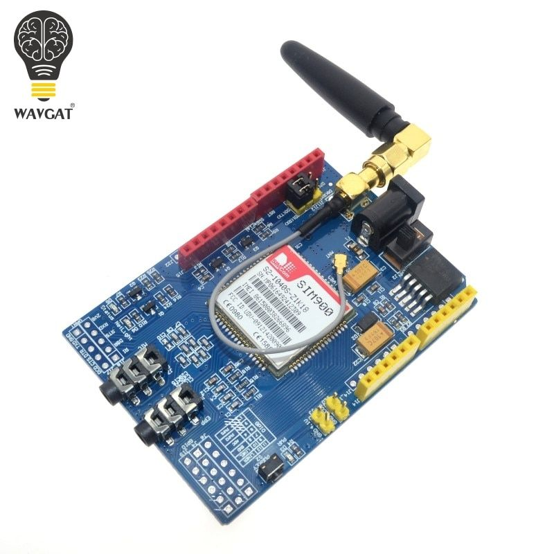 WAVGAT SIM900 850/900/1800/1900 MHz GPRS/GSM Development Board Module Kit For Arduino