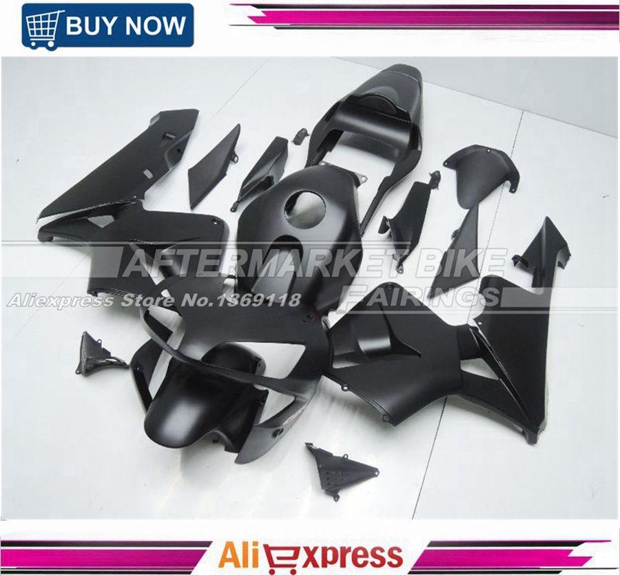 ALL-OEM-MATTE-BLACK CBR600RR 2003 2004 Verkleidung Kit Für Honda 03 04 Matte Black CBR600RR Verkleidung Körper